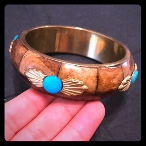 Pretty Brown and Turquoise Bracelet